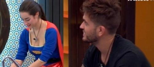 GH17: ¡¡El descarado tonteo de Rodrigo y Adara!!