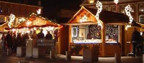 I tradizionali mercatini di Natale.