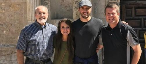 Jinger Duggar with husband Jeremy Vuolo (credit: Duggar Family/Twitter)