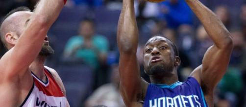 Kemba Walker and the Hornets host the Spurs Wednesday night. [Photo via Flickr Creative Commons]