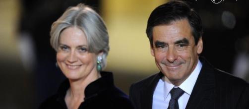 Monsieur et Madame Fillon en route pour l'Elysée