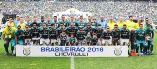 Palmeiras é campeão com uma rodada de antecedência (Foto: Marcos Ribolli)