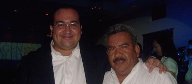 A la izquierda, el ex gobernador de Veracruz, Juan Duarte