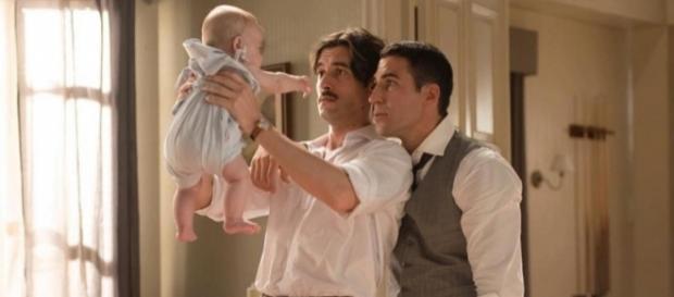 Alberto y Mateo en una imagen anterior de 'Velvet. /Atresmedia