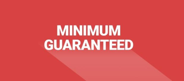 New minimum guaranteed payment of €25 per article