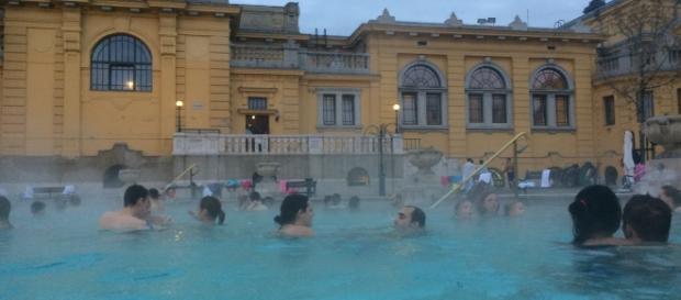 Photo taken at szechenyi thermal baths, budapest