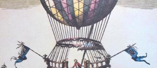 El globo inventado por los hermanos Mongolfier