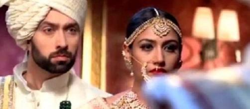 'ishqbaaz' Anika and Shivaay get married (Youtube screen grab)