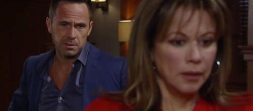 'Julexis' screen grab from 'General Hospital'