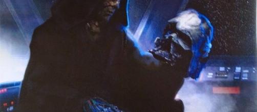 Kylo y darth Vader, nieto y abuelo