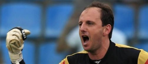 O novo técnico do São Paulo, Rogério Ceni