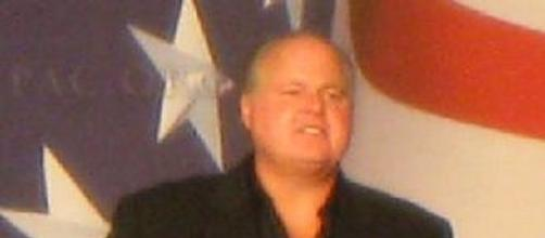 Rush Limbaugh at CPAC 2009 (wikipedia)