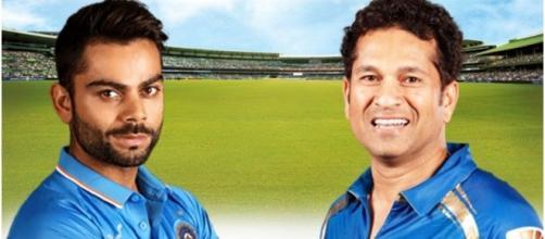 Virat Kohli vs Sachin Tendulkar Quick Comparision   Cricket   2016 Youtube