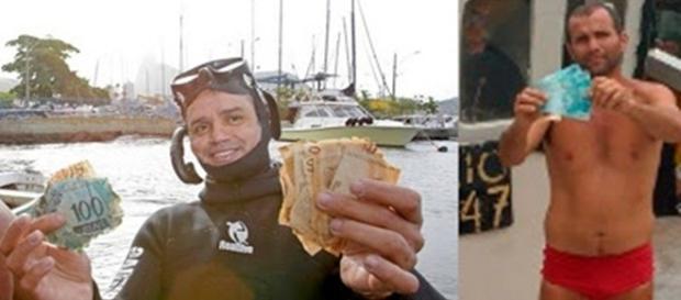 Barqueiro encontra R$ 45mil reais