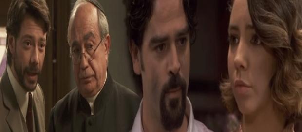 Il Segreto, spoiler trama 1240: Don Anselmo lascia Puente Viejo, Cesar si dichiara ad Emilia