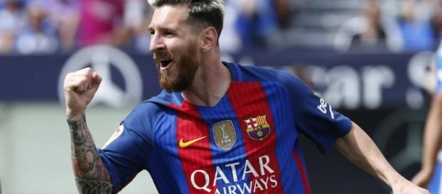 """Leganés vs Barça: Uno por uno del Barcelona: """"Messi juega a otra ... - as.com"""