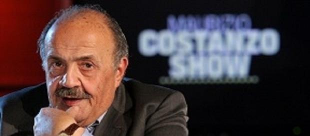 Maurizio Costanzo show (foto da sito Rete 4)
