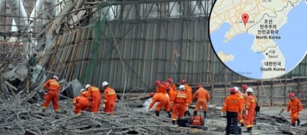 Prăbușirea platformei unui turn de răcire la o centrală electrică a provocat moartea a 67 de persoane - Foto: AFP; Google Maps