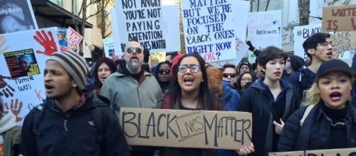 Black Lives Matter protesters march, have sit-ins in Seattle | The ... - seattletimes.com