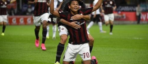 Carlos Bacca attaccante del Milan