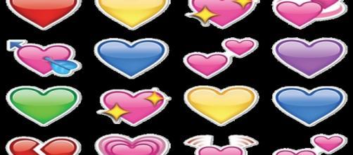 O significado real dos emojis em formato de coração