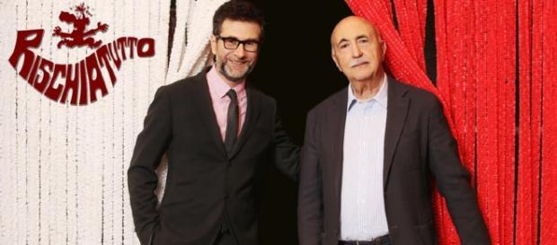 """Ascolti record per il """"Rischiatutto"""" di Fabio Fazio e Ludovico Peregrini"""