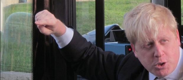 Il Ministro degli Esteri britannico, Boris Johnson