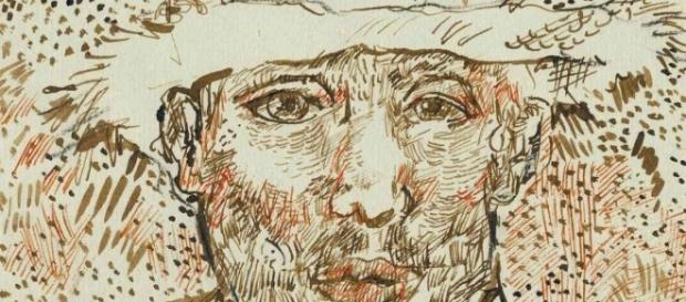 image claimed to be a self-portrait of Van Gogh. Uk.makemefeel.com Creative Commons