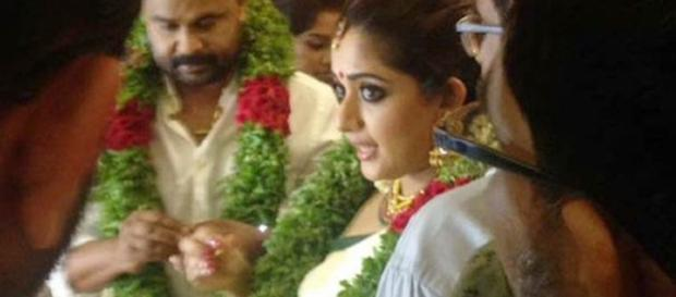 Kavya Madhavan Dileep wedding (Youtube screen grab)