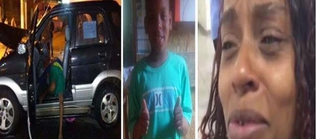 Mãe da criança morta com tiro na cabeça em junho é presa por roubo em São Paulo.