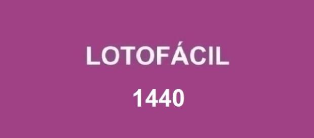 Resultado concurso Lotofácil 1440