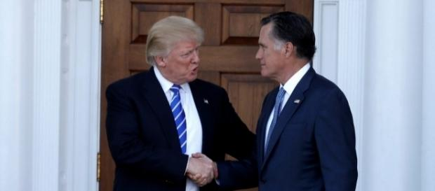 Trump eying Romney for Secretary of State post sparks fury. Photo: Blasting News Library - pbs.org