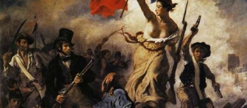 embolica que fa blog: Mirar un cuadro: La libertad guiando al ... - blogspot.com