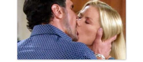 Scatta di nuovo la passione tra Brooke e Bill