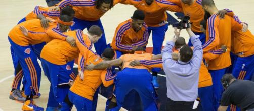 The Knicks try to continue their winning ways when they take on the Hornets. [Photo via Flickr Creative Commons]