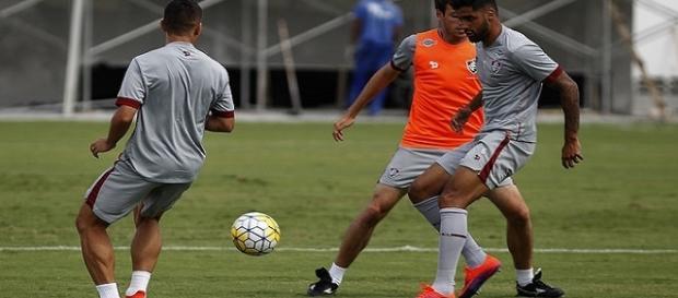 Em clima eleitoral, Fluminense encerra preparação para encarar o Figueirense (Foto: Mailson Santana/Divulgação FFC)