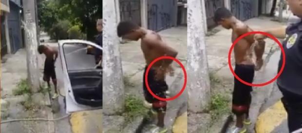 Ladrão faz caca nas calças - Imagem/Google