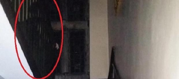 Lo scatto del fantasma di Bolling Hall