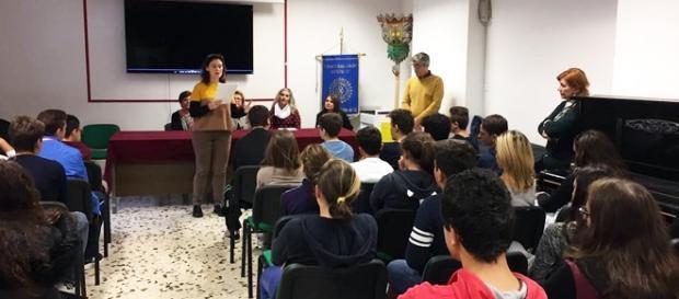 Un'immagine dell'evento che ha avuto luogo all'Aurispa (Noto)