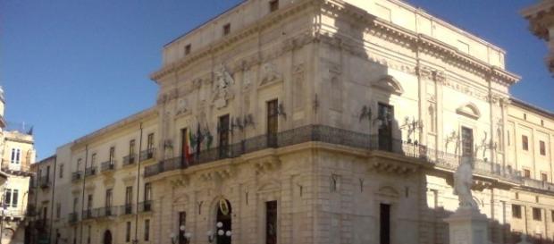 Veduta di Palazzo Vermexio a Siracusa