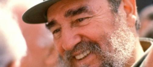 Fidel Castro, en 1973: riendo en el exterior