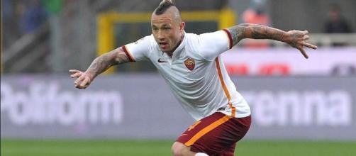 Nainggolan, centrocampista della Roma.