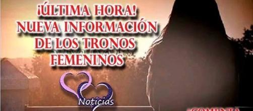 Nueva información sobre el tritrono femenino