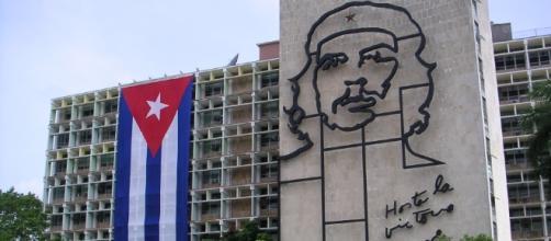 Plaza de la revolucion a L'Avana, simbolo del governo castrista
