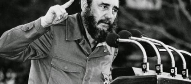 Fidel Castro en la conferencia de la ONU