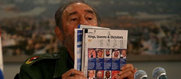 Fidel é considerado uma das grandes. fortunas entre dirigentes nacionais, acima de duas rainhas [foto Ismael Francisco / Cubadebate]