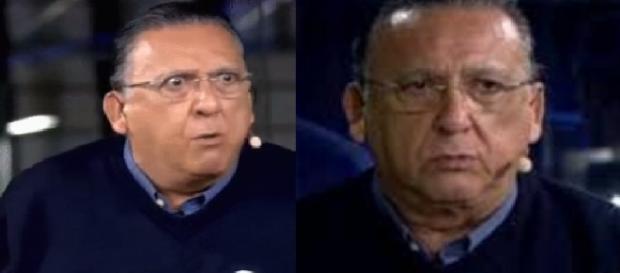 Galvão Bueno na Globo - Imagem/Google