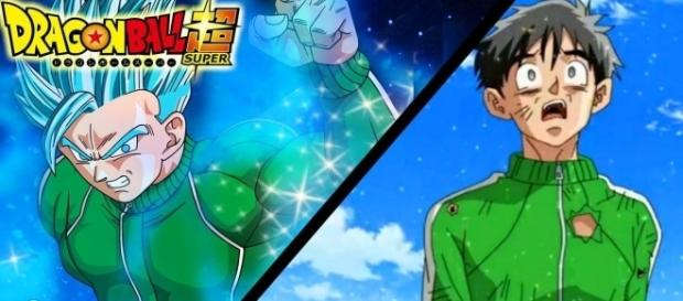 Gohan got Super Saiyajin Blue. from dragonball.wikia