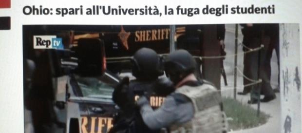 Interventi di FBI e polizia all'Università dell'Ohio