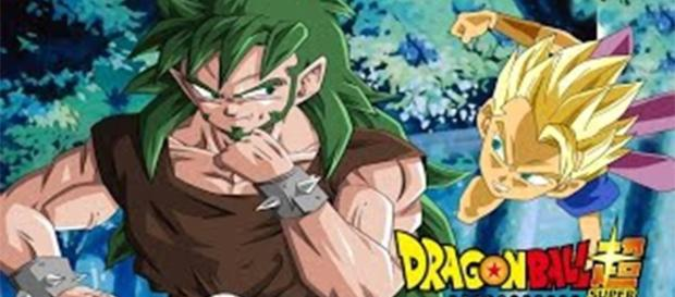 Kyabe and his father. The god Saiyan of the Universe 6. from YouTube